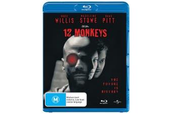 Twelve Monkeys Blu-ray Region B