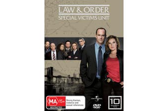 Law and Order Special Victims Unit Season 10 DVD Region 4