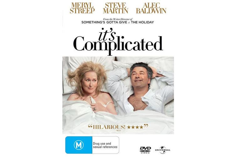Its Complicated DVD Region 4