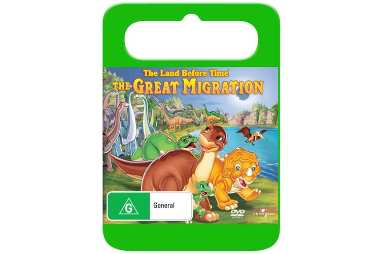 The Land Before Time 10 The Great Migration DVD Region 4