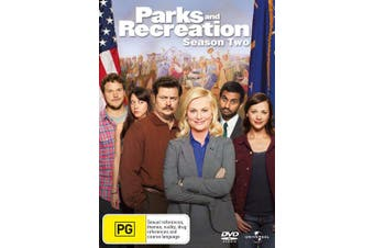 Parks and Recreation Season 2 DVD Region 4
