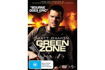 Green Zone DVD Region 4
