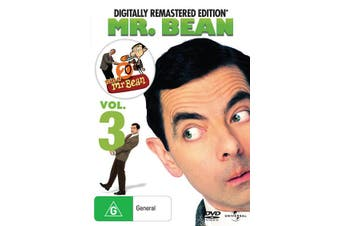 Mr Bean Volume 3 DVD Region 4