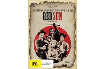 Red Sun DVD Region 4