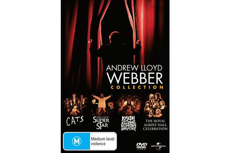 Andrew Lloyd Webber Collection DVD Region 4