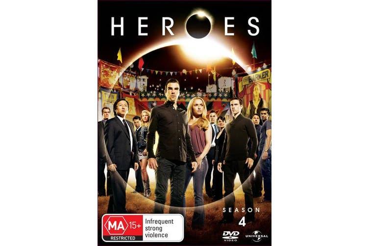 Heroes Season 4 DVD Region 4
