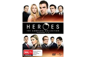 Heroes The Complete Collection DVD Region 4