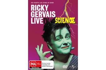 Ricky Gervais Live 4 Science DVD Region 4