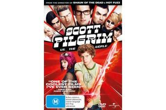 Scott Pilgrim Vs The World DVD Region 4