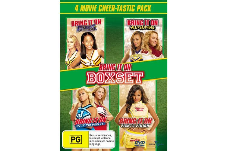 Bring It On 4 Movie Collection DVD Region 4