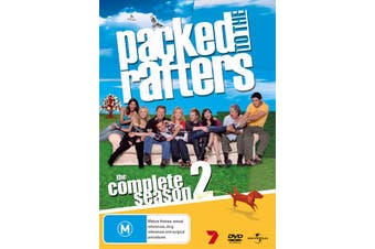Packed to the Rafters The Complete Season 2 DVD Region 4