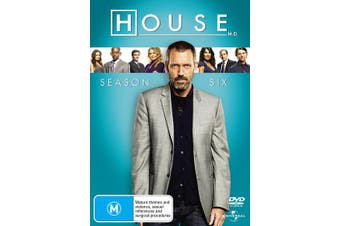 House Season 6 DVD Region 4