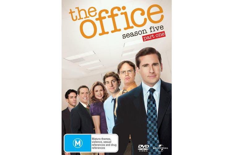 The Office An American Workplace Season 5 Part One DVD Region 4