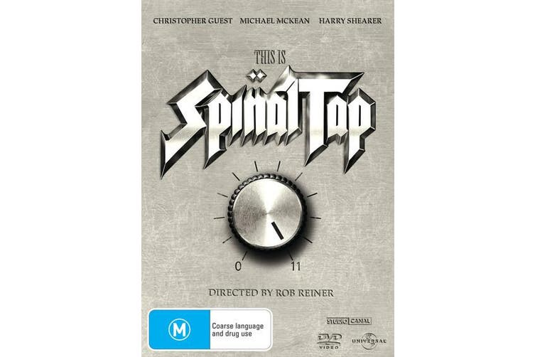 This Is Spinal Tap DVD Region 4