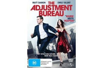 The Adjustment Bureau DVD Region 4