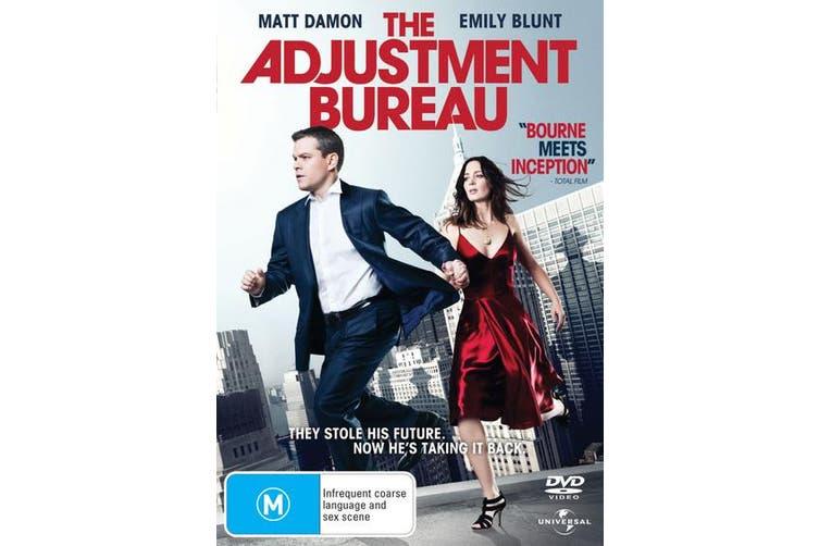 The Adjustment Bureau DVD Region 4