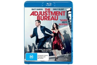 The Adjustment Bureau Blu-ray Region B