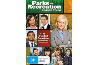 Parks and Recreation Season 3 DVD Region 4