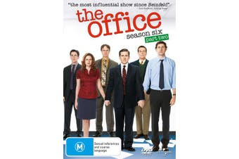 The Office An American Workplace Season 6 Part Two DVD Region 4