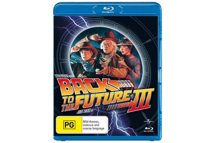 Back to the Future Part 3 Blu-ray Region B
