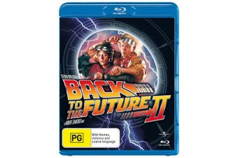 Back to the Future Part 2 Blu-ray Region B