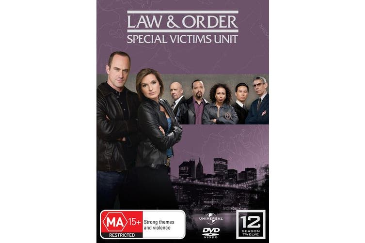 Law and Order Special Victims Unit Season 12 DVD Region 4