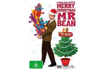 Mr Bean Merry Christmas Mr Bean DVD Region 4