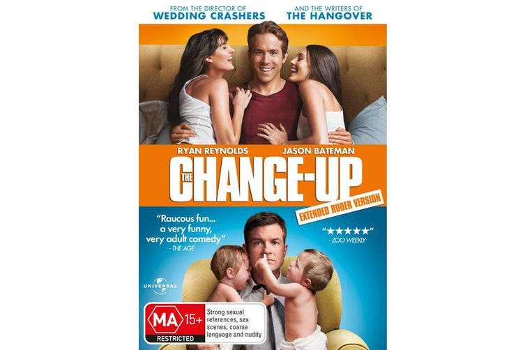 The Change up DVD Region 4