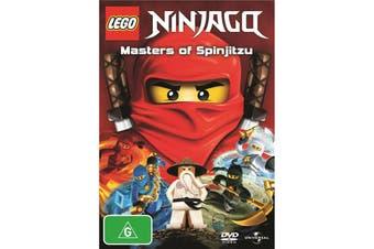 LEGO Ninjago Masters of Spinjitzu DVD Region 4