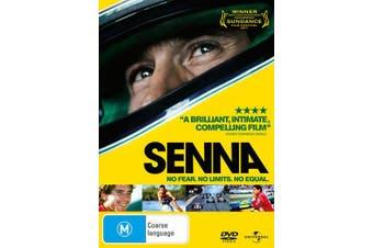 Senna DVD Region 4