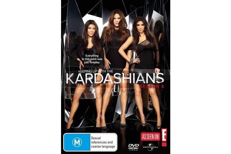 Keeping Up With the Kardashians Season 5 DVD Region 4