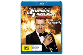 Johnny English Reborn Blu-ray Region B