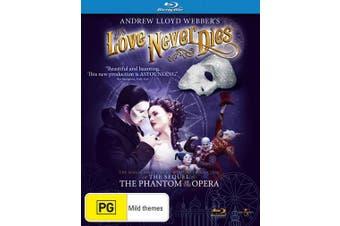 Andrew Lloyd Webbers Love Never Dies Blu-ray Region B