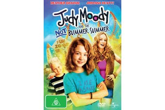Judy Moody and the Not Bummer Summer DVD Region 4
