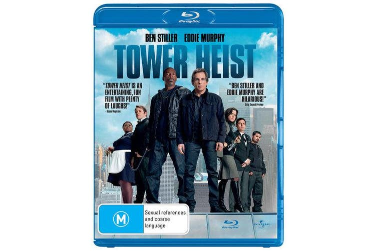 Tower Heist Blu-ray Region B