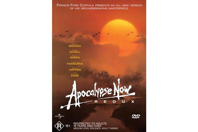 Apocalypse Now Redux DVD Region 4