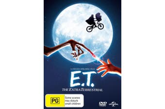 ET The Extra Terrestrial DVD Region 4