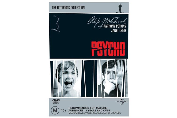 Psycho DVD Region 4