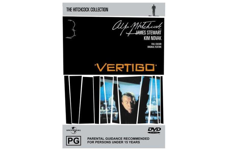 Vertigo DVD Region 4