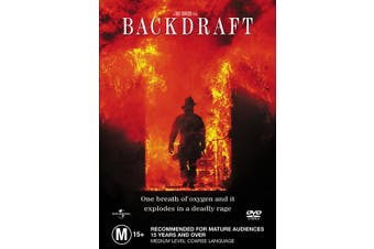 Backdraft DVD Region 4