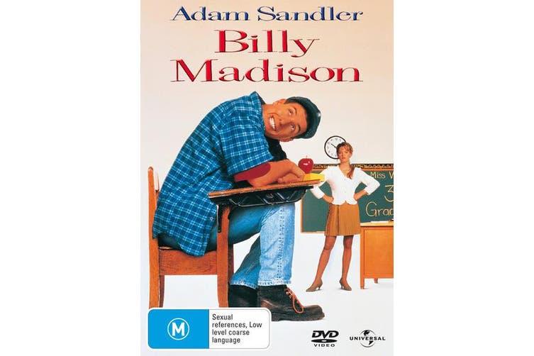 Billy Madison DVD Region 4