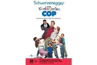 Kindergarten Cop DVD Region 4