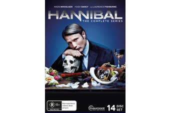 Hannibal The Complete Series Box Set DVD Region 4