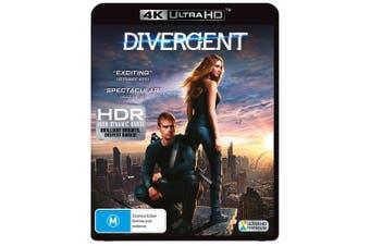 Divergent 4K Ultra HD UHD Region B