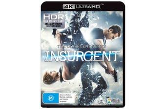Insurgent 4K Ultra HD UHD Region B