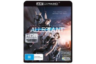 Allegiant 4K Ultra HD UHD Region B