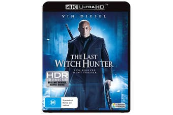 The Last Witch Hunter 4K Ultra HD UHD Region B