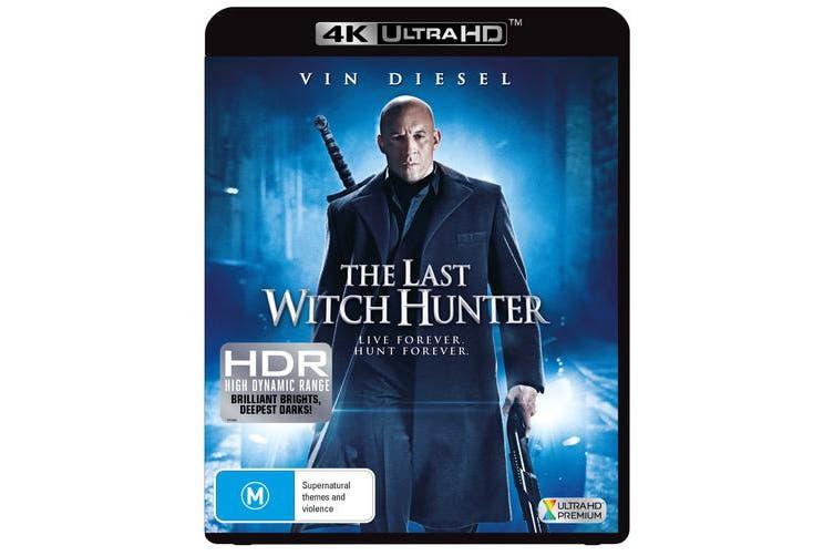 The Last Witch Hunter 4K Ultra HD UHD Region B