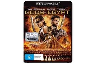 Gods of Egypt 4K Ultra HD UHD Region B