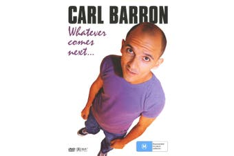 Carl Barron Whatever Comes Next DVD Region 4